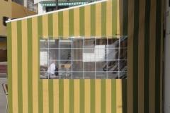 Plane mit Sichtfenster