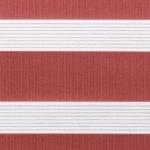 braunrot + weiß + Linien