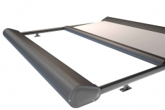 Sonnenschutz Glasdachkonstruktion