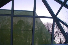 Glasdachmarkise Trapezform