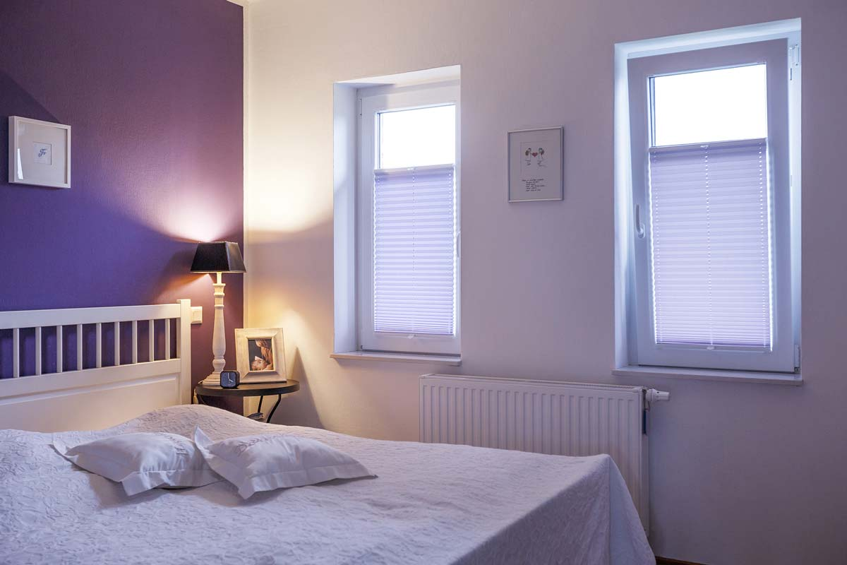 plissee rollo von unten nach oben. Black Bedroom Furniture Sets. Home Design Ideas