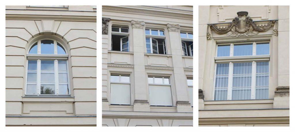 Sonnenschutz Denkmalschutz