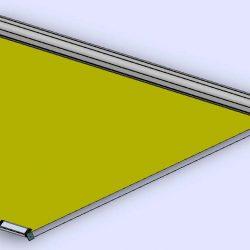Sonnenrollo Dreieck 3.55
