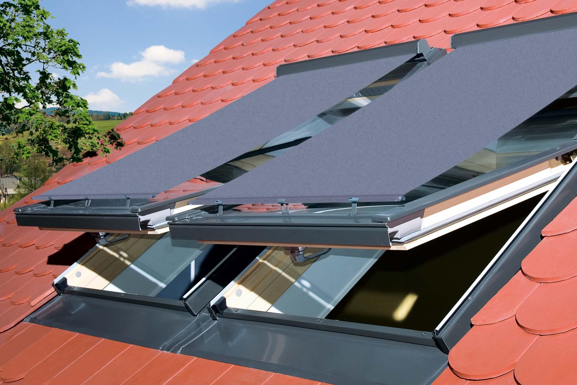Beamten wählen suche nach original glatt Dachfenster- Rollo in jeder Größe oder Schrägverglasung ...