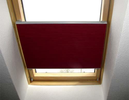 Extrem Dachfenster- Rollo in jeder Größe oder Schrägverglasung EI12