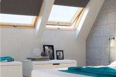 Dachfensterrollos ohne Bohren