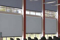 Blendschutzrollo Hörsaal
