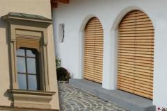 Denkmalschutz Holzaussenjalousien