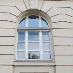 Außenrollo Stichbogenfenster