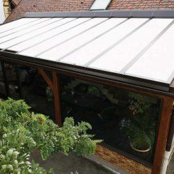 Rollladen für Glasdach