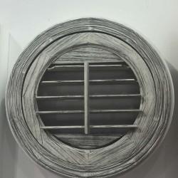 Typ R3 - Holzjalousie rund