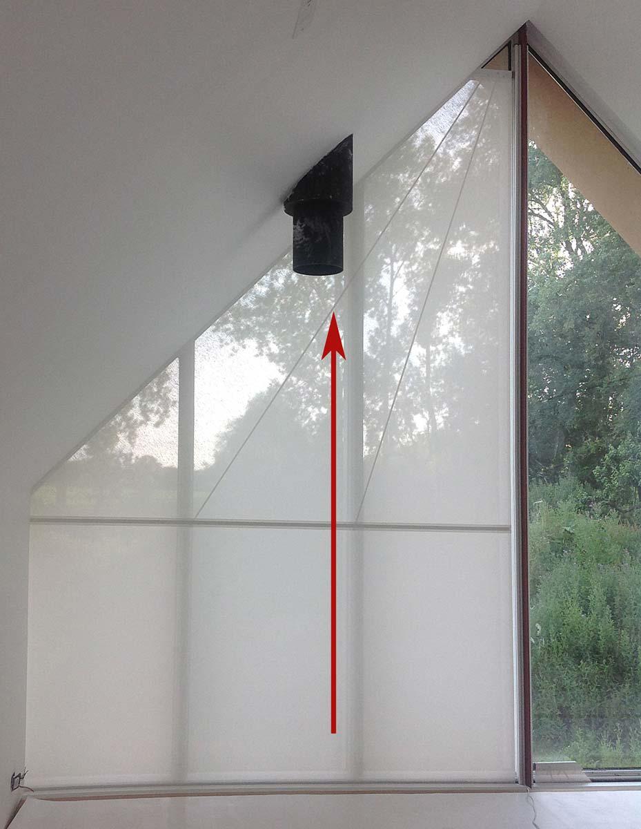 s 1 3 dreiecksrollo von unten nach oben. Black Bedroom Furniture Sets. Home Design Ideas
