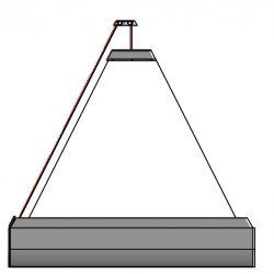 Blickschutzrollo Dreieck