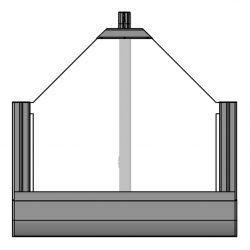 Schrägfenster Gegenzuganlage