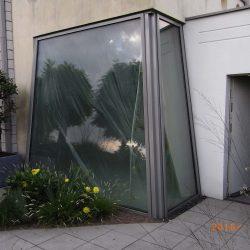 Trapezfenster Sichtschutz