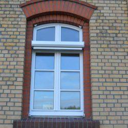 Markise Rundbogenfenster