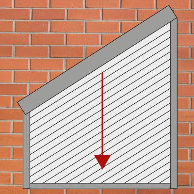 Fenster rollos aussen cool cheap amazing victoria m aluminium jalousien f r fenster und t ren - Dachfenster rollladen nachrusten ...
