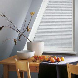Trapezfenster Plissee