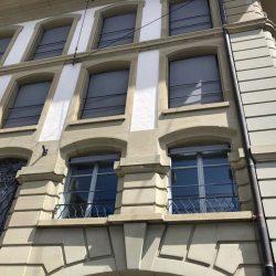 Rundbogenfenster Sonnenschutz