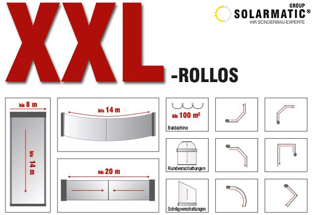 XXL-Rollos