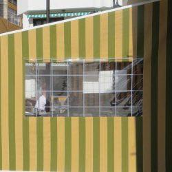 Markisenplane mit Sichtfenster