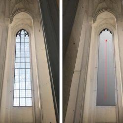Rollo Kirchenfenster