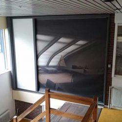 Seitenzugrollo Sichtschutz