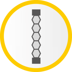 Icon: Wabenplissee