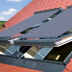 Sichtschutzrollo Dachfenster