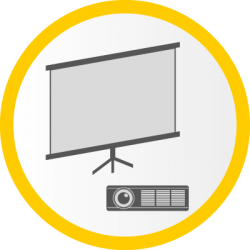 Icon: Filmleinwand