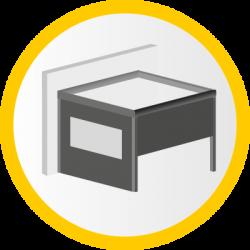 Wetterschutzrollos (Icon)