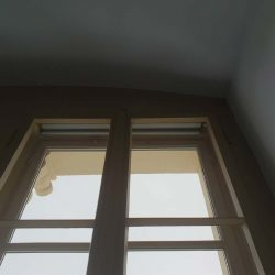 Rollo im Kastendoppelfenster