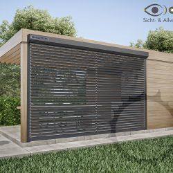 Solarrollladen mit Jalousiefunktion