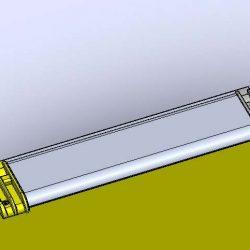 Gegenzugrollo mit Seil Typ 3.55