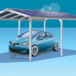 Terrassendach solar