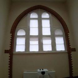 Sichtschutz Domfenster