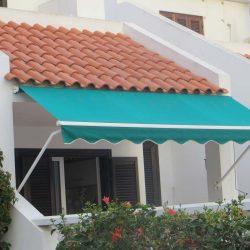 Balkon Fallarmmarkise